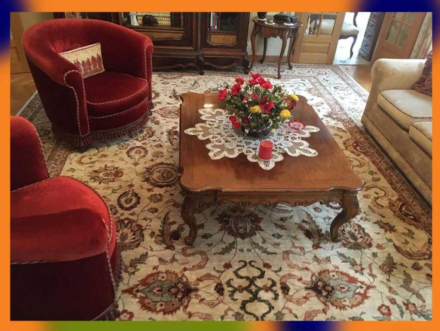 Nettoyage de tapis d'Orient à domicile Bussy-Saint-Georges