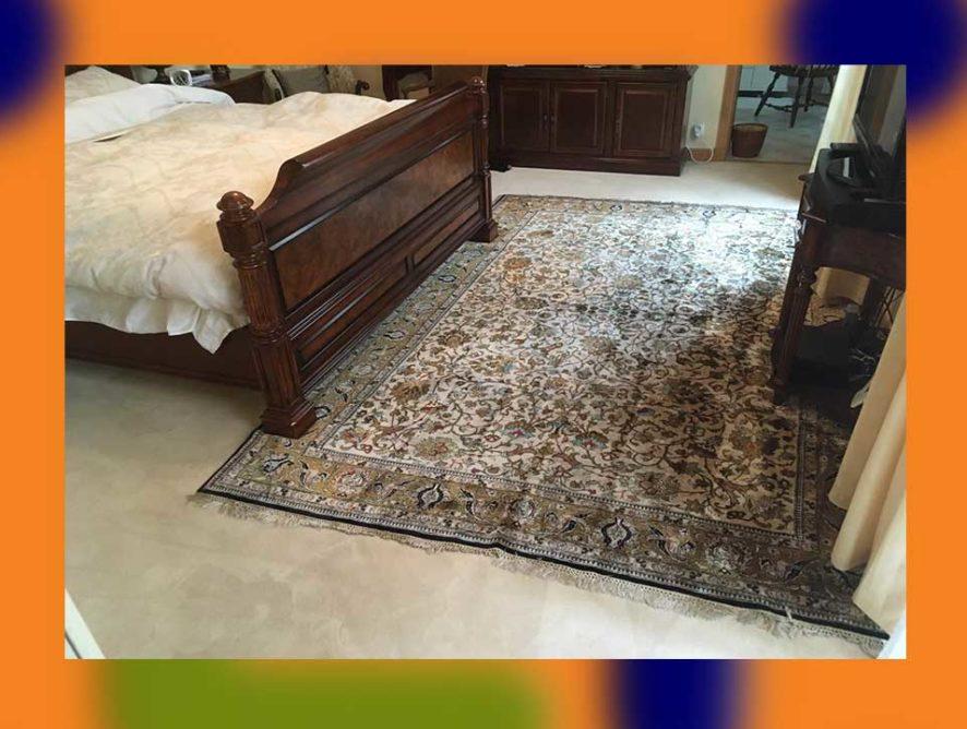 Nettoyage de tapis d'Orient à domicile Creil