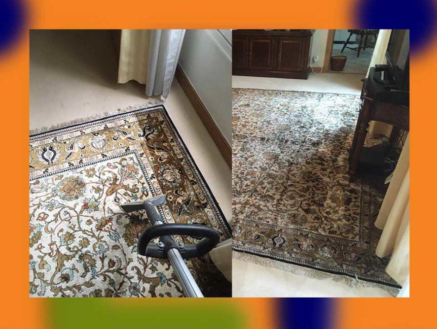 Nettoyage de tapis d'Orient à domicile Bobigny