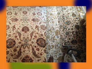 Nettoyage de tapis d'Orient à domicile Romainville