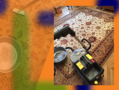 Nettoyage de tapis d'Orient à domicile Paris 75004